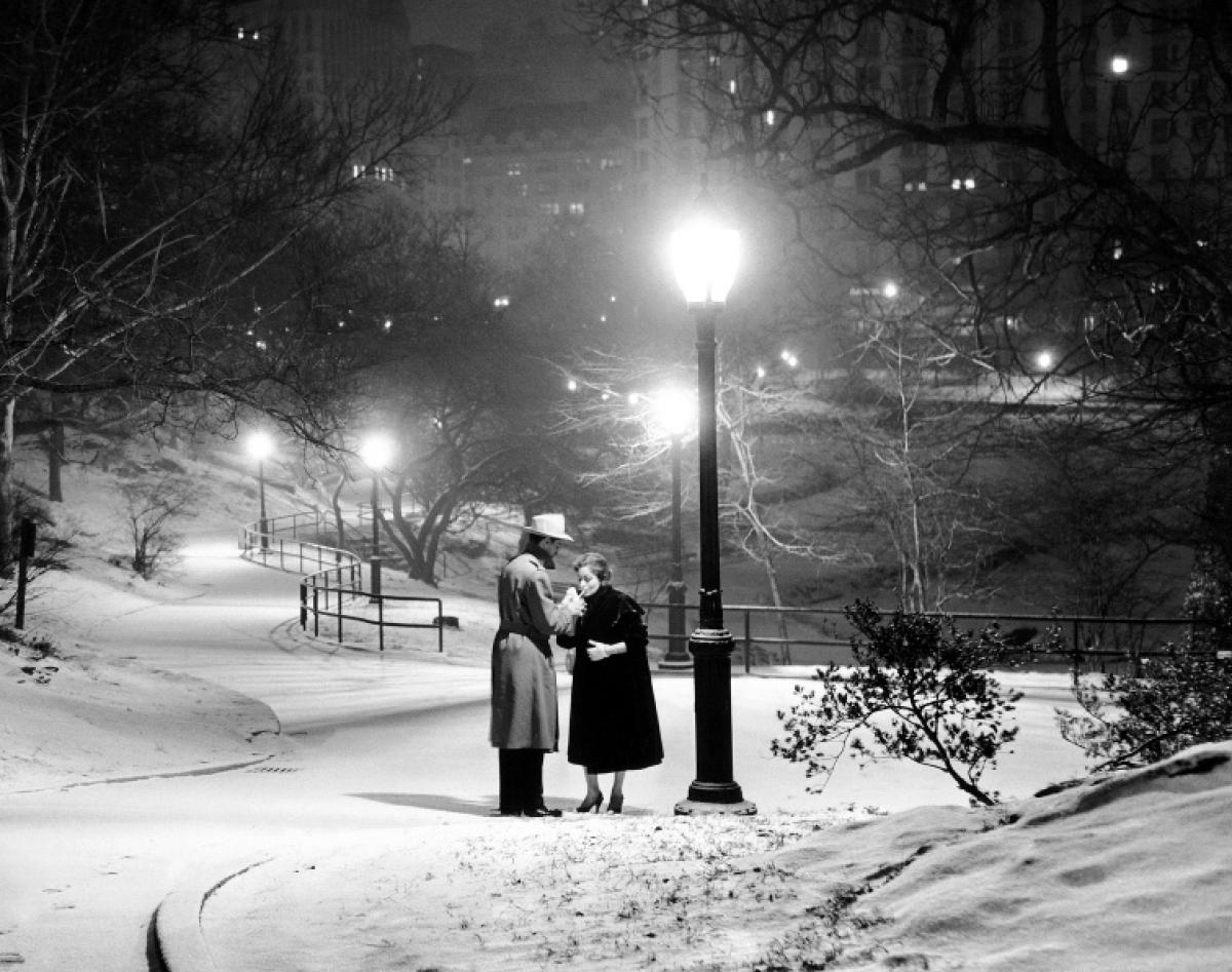 Image result for old couple in snow