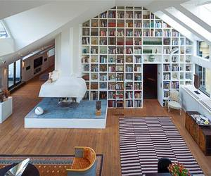 beautiful, books, and home image