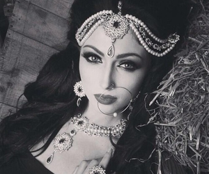 indian, makeup, and beauty image