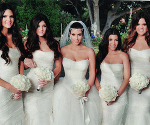 wedding, kardashians, and kim kardashian image