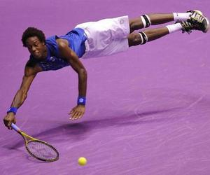 sports, tennis, and gael monfils image