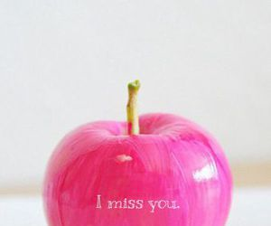 fruit, heart, and I Love You image
