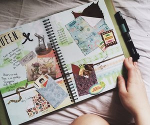 art, colours, and drawing image