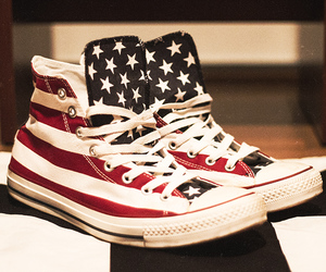 converse, shoes, and usa image