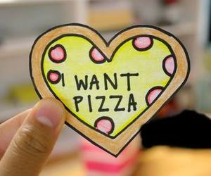 heart, i want, and pizza image
