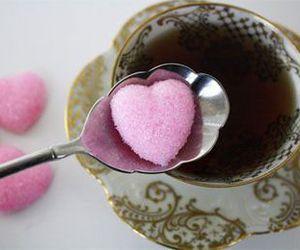 tea, heart, and sugar image