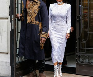 couple, fashion, and fashion week image