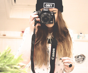 girl, obey, and canon image