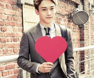 Chen, kim jongdae, and love image