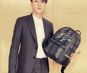 bag, exo, and mcm image