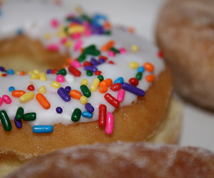 donuts, sprinkles, and icing image