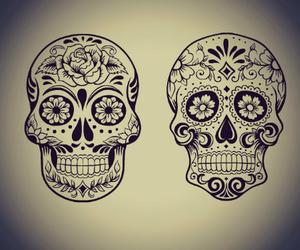 calavera and skull image