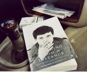 ian curtis, book, and joy division image