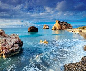 sea, cyprus, and beach image