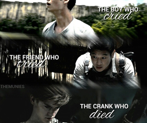newt, Minho, and thomas image