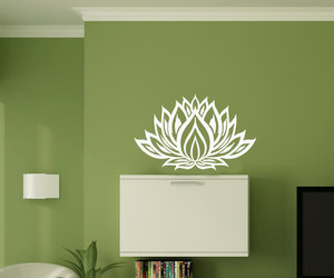 wall decal, decalsm walldecor, and sign yoga image