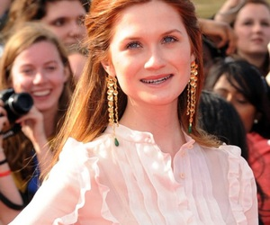 ginger, ginny weasley, and bonnie wright image