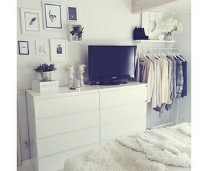 bedroom, clean, and clothes image