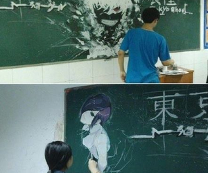 tokyo ghoul, anime, and drawing image