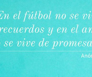 blue, frases, and futbol image