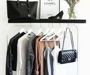 chanel, clothes, and bag image