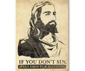 Died, jesus, and nothing image