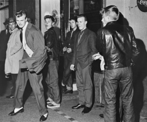 1950's, finland, and rockabilly image