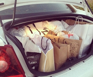 car, shopping, and fashion image
