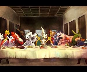 pokemon, mewtwo, and arceus image