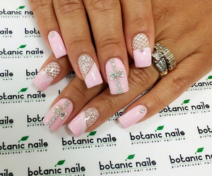 long nails, luxury, and nails image