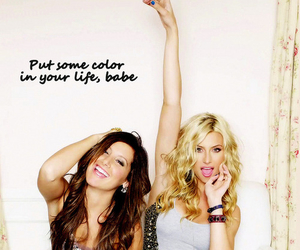 friends, color, and ashley tisdale image