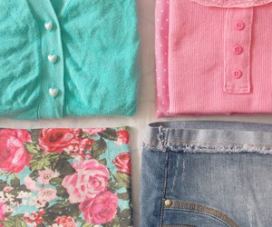 blog, buttons, and clothes image
