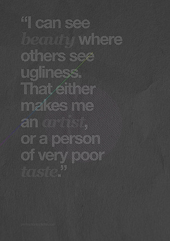 beauty, quote, and typography image