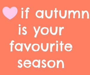 autumn, favourite, and love it image