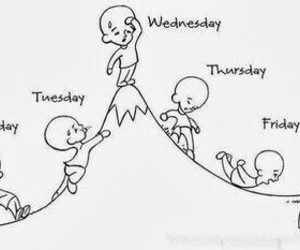 week, friday, and monday image
