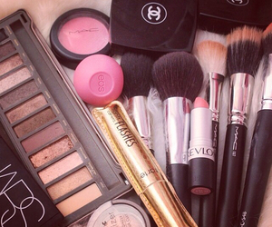 makeup, chanel, and make up image