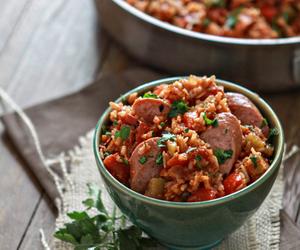 food and jambalaya image