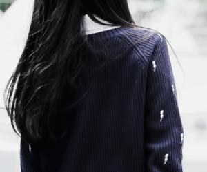 hair, korean, and ulzzang image