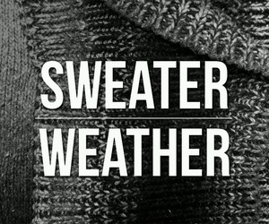 sweater, sweater weather, and weather image