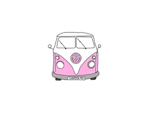 pink, overlay, and car image