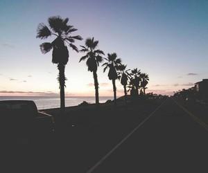 sunset, beach, and like image