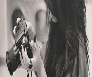 camera, girl, and taking picture image