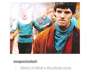 arthur, it, and merlin image