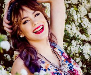martina stoessel, violetta, and tini image
