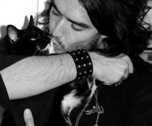 cat and russell brand image