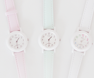 watch, pink, and cute image