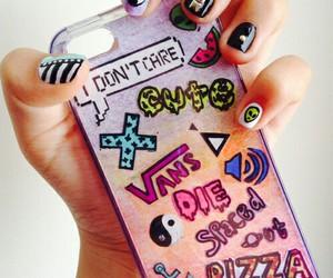 girls, nails, and OMG image
