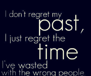time, past, and quote image
