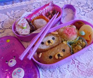 food, bento, and japan image
