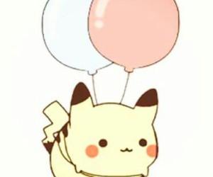 pikachu, pokemon, and little pikachu image